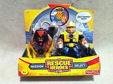 Rescue Heroes Mission Select  Jack Hammer!