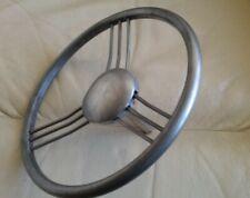 Tri-ang  Vintage  Pedal Car Bare Metal Banjo Steering Wheel
