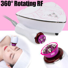 5Mhz 360°Head Rotating Facial Skin Tighten Lift RF Radio  Anti Wrinkle Machine