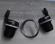 microshift Twist Grip Gear Shifters Trip 8 Speed Bike Shifter for Shimano