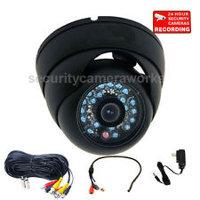 Security Camera Built-in Sony CCD 600TVL Wide Angle Outdoor with Audio Mic BYE