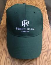 Original Pierre Kunz Kuntz Green Baseball Golf Cap Hat Adjustable - Brand New