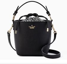 "Kate Spade New York Cameron street ""pippa"" black bucket bag sophisticated & cute"