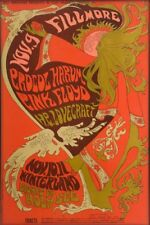 "Pink Floyd Procol Harum 1967 Fillmore Winterland Replica 13 x 19"" Photo Print"