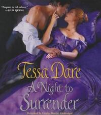 The Spindle Cove: A Night to Surrender by Tessa Dare (2013, CD, Unabridged)