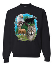 Bear Wolf Eagle Blanket Ebay