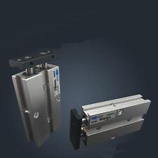 TN10X80 10mm x 80mm Double Rod Aluminum Alloy Pneumatic Air Cylinder