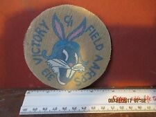 WWII USAAF BUGS BUNNY 313 TH AAFCPS VICTORY FIELD FLIGHT JACKET  PATCH