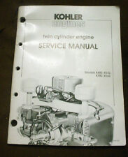KOHLER K482-K532-K662 TWIN SMALL ENGINE LAWN & GARDEN MOWER TRACTOR REPAIR BOOK