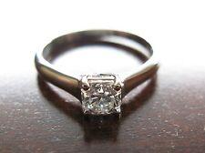 Tiffany & Co Platinum Lucida Diamond Engagement Ring 0.59 G, VVS2 Size 6.75