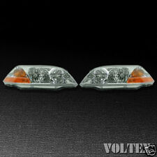 2001-2003 Acura MDX Headlight Lamp Set of 2 Clear lens Halogen Pair