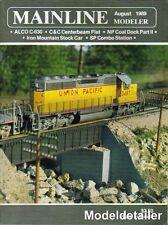 Mainline Modeler Aug.89 ALCO C-630 SP Station C&C Centerbeam Flat NP Coal Dock