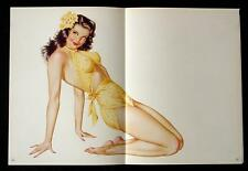 Vintage Lot of 7 Vargas Pin-up Posters  Incredibly Sexy 1945 Esquire Ladies!!