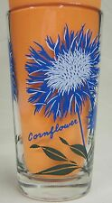 Cornflower Peanut Butter Glass Glasses Drinking Kitchen Mauzy 47-2