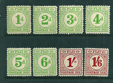 Lightly Hinged Fijian Stamps