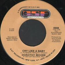DOROTHY MOORE Cry Like A Baby 7 INCH VINYL USA Gsf 1973 6908