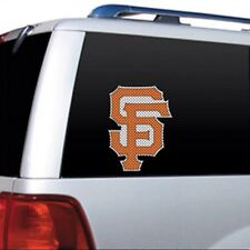"MLB San Francisco Giants Car Track Window Film Decal (10""x7.5"")"
