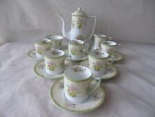 Rare Vintage Noritake Japan Galenta Pattern Coffee Set Services for Six