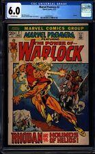 Marvel Premiere 2 CGC 6.0 OW Bronze Age Key Marvel Comic Warlock App. L@@K IGKC