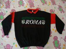 Vintage ROMA Colosseo S. Pietro Italy Rap Hip Hop Collar Sweatshirt XL