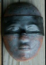 Handmade Ceramic Clay Art Face Mask Sculpture Pottery Original