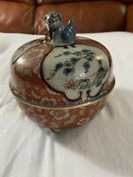 Imari Japan Bowl Antique Pottery Made In Japan