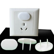 20x White Power Socket Outlet Plug Protective Cover Baby Child Safety Protector