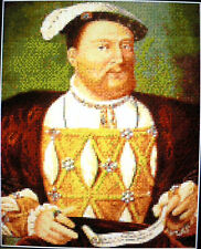 HENRY VIII ~ NEW Counted Cross Stitch KIT (Larger Design) #ML62