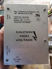 Videojet Excel 100/170 HV PSU fuente de alimentación de alto voltaje