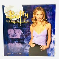 RARE Buffy The Vampire Slayer 2001 Calendar Sealed BTVS HTF