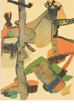 ESTEVE Maurice Lithographie couleur Roussadou 1974 imprimeur Mourlot