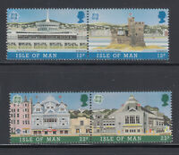 Isle of Man 1987 Europa Architecture Sc 332a-334a mint never hinged