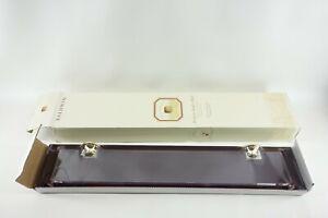 untBaldwin Harlequin Premium 24' Acrylic Shelf with Solid Brass Mounting