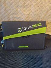GoalZero Nomad 7 Solar Panel With Extras