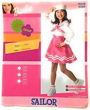 BARBIE PINK SAILOR MARINE CHILD HALLOWEEN COSTUME GIRL'S SIZE SMALL 4-6