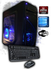 Custom Built 3.8GHz Radeon 4650 HDMI DVI Gaming Desktop PC Computer System New
