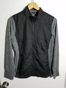 1 NWT WOMEN'S CUTTER & BUCK JACKET, SIZE: LARGE, COLOR: BLACK/GRAY (J300)