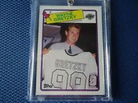 1987-88 TOPPS WAYNE GRETZKY SWEATER CARD