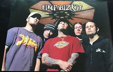 Limp Bizkit Group Import Poster 24x34 Fred Durst Rare Mint