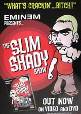 EMINEM POSTER PRESENTS THE SLIM SHADY SHOW
