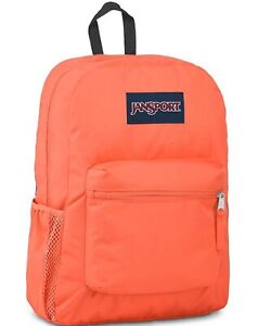 Jansport Crosstown Backpack, Orange, H2O Pocket