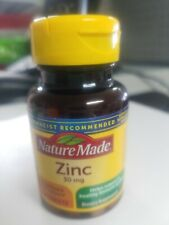 Zinc 30 Mg Nature Made 100 Tablets Tablets Ex 2/22