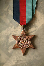WW2 GRI BRITISH & COMMONWEALTH ALLIED FORCES 1939-45 STAR MEDAL ARMY NAVY RAF