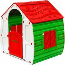 Casetta in Nylon per Bambini Casa Trasportabile Portatile 140x125 cm Multicolor