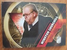 2016 Topps Doctor Who Timeless #10 Winston Churchill Historical Figures