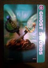 Ghost Swords Skylanders Spyro's Adventures Stat Card Only!