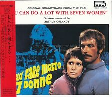 """YOU CAN DO A LOT WITH SEVEN WOMEN"" soundtrack Japan CD digipak out of print"