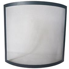 Buckton Fire Guard Fire Screen Safety Protector Black Shield Spark Fireplace