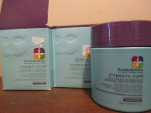 2x Pureology Serious Colour Care Strength Cure Restorative Hair Masque 5.2oz