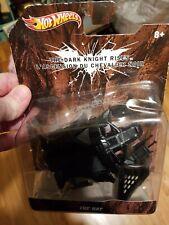 NEW! 2011 Hot Wheels Batman The Dark Knight Rises The Bat 1/50 scale #XO553